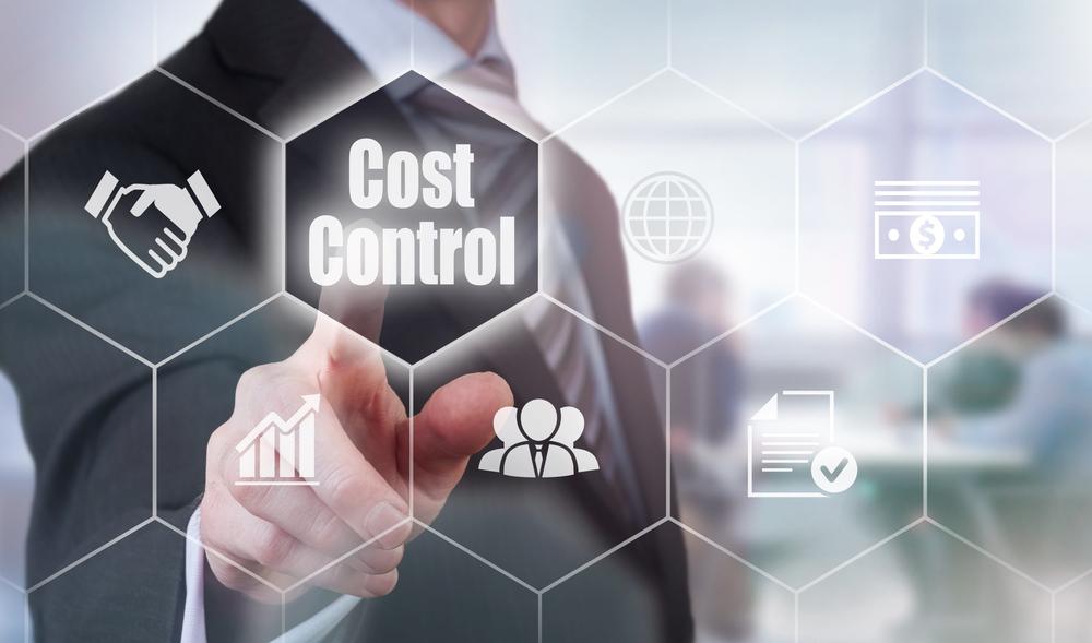 Cost Control Concept button